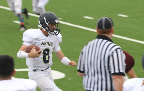 Akins plays Harlandale in first Scrimmage of the season