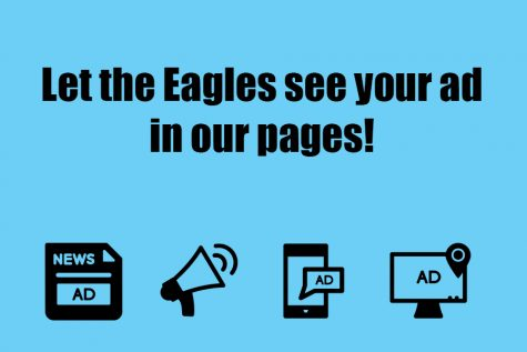 Advertising information and rates for the Eagle's Eye