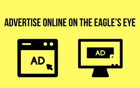 Banner ads available on The Eagle's Eye