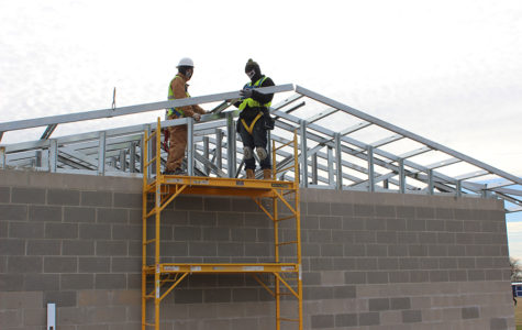 New locker rooms built on practice field offer many features