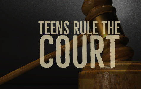 Law interns participate with the City of Austin teen court