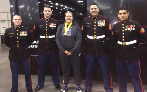 All-American Wrestler, Katerina Peña, signs with college