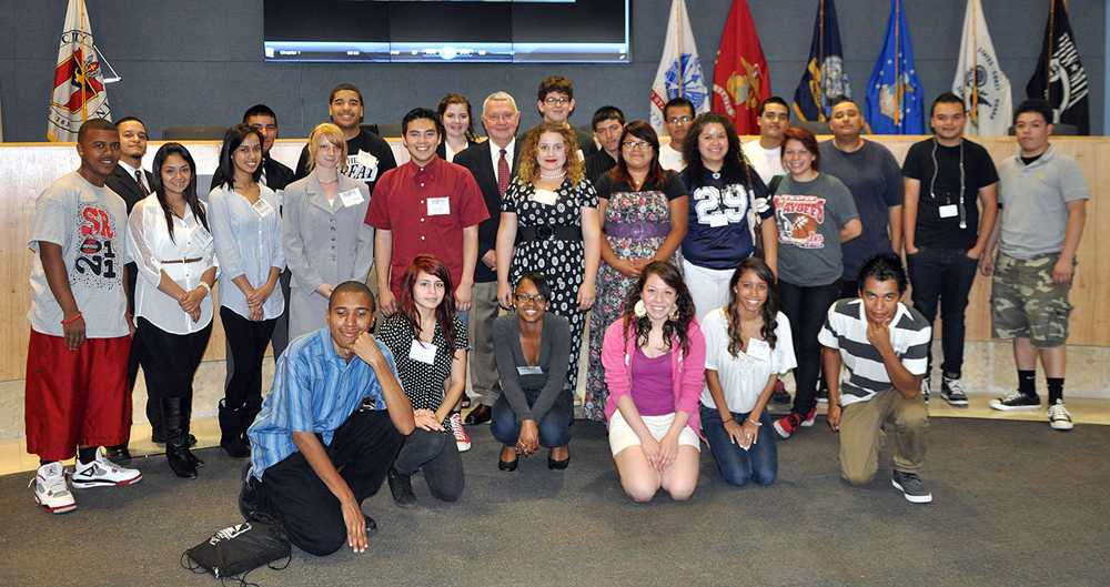 Austin Corps meets with mayor