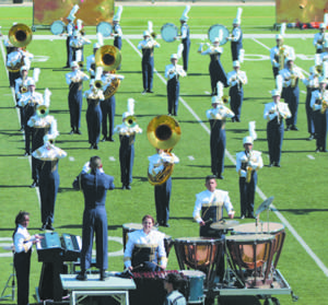 Marching band achieves top regional rank