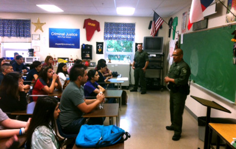 Travis County SWAT team visits campus