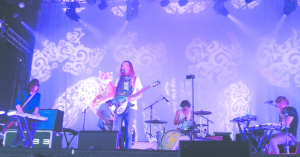 """Tame Impala rocks the Honda Stage at ACL Festival. They performed their hit single """"Elephant."""""""