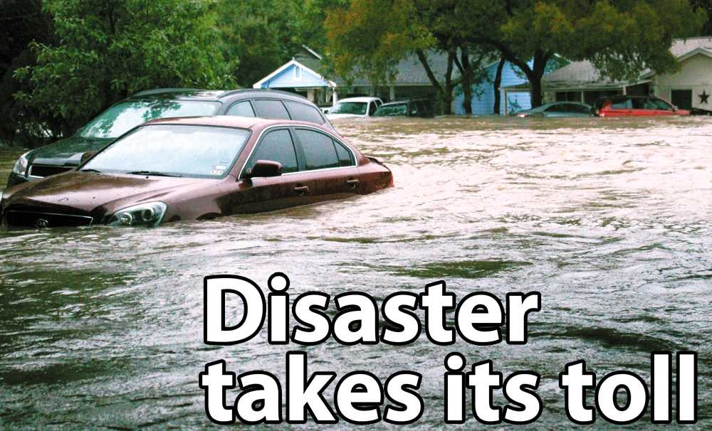 Destructive rain hit Austin the morning of Halloween. Theflood left many homes in southeast Austin along Onion Creek destroyed.