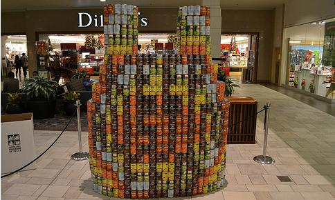 Canstruction wins first place during annual competition
