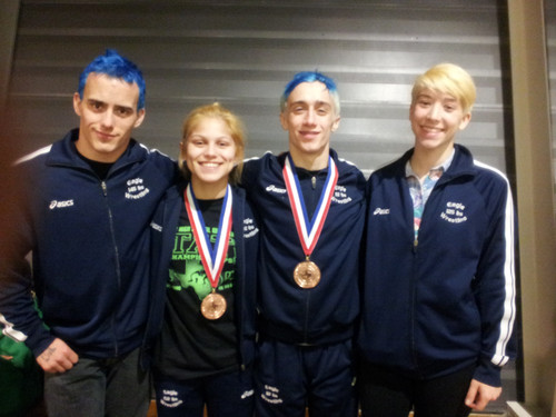 Akins wrestlers place in state tournament