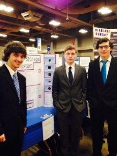 Akins students place at regional science fair
