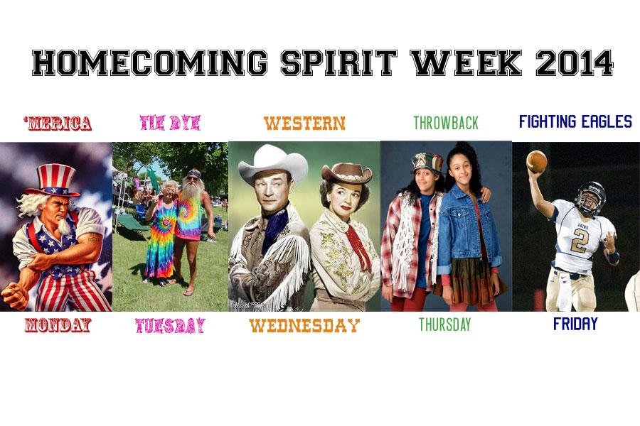 Spirit Week themes and courts announced