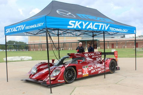 Mazda Motor Sports conducts presentation for STEM students