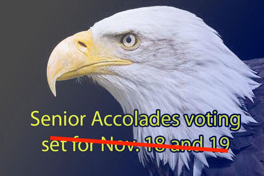Yearbook reschedules Senior Accolades voting
