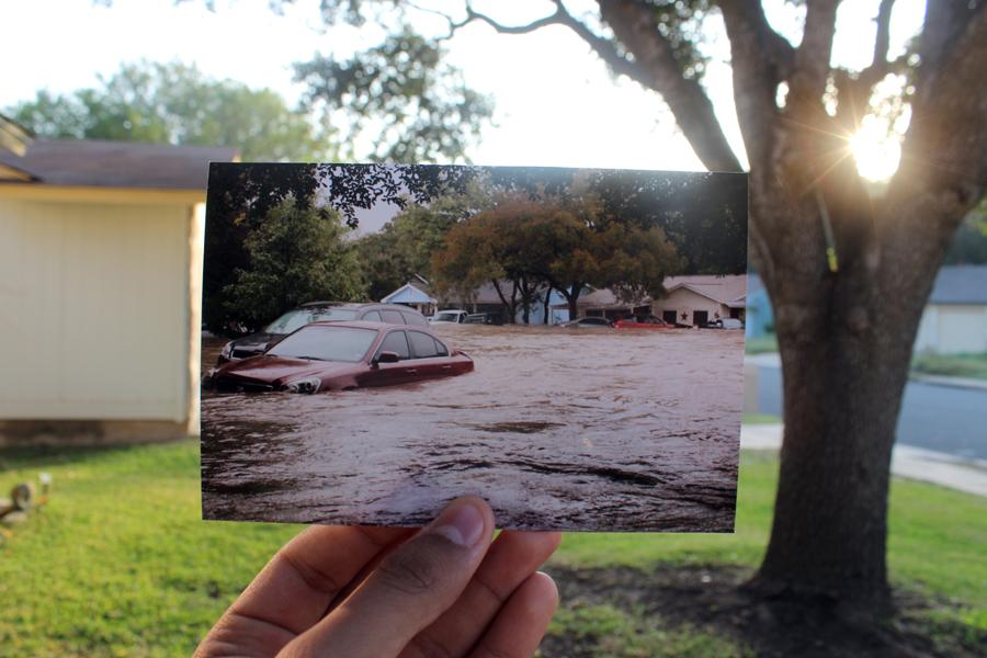 A+photo+is+taken+in+the+same+spot+during+last+year%E2%80%99s+Halloween+flood.+