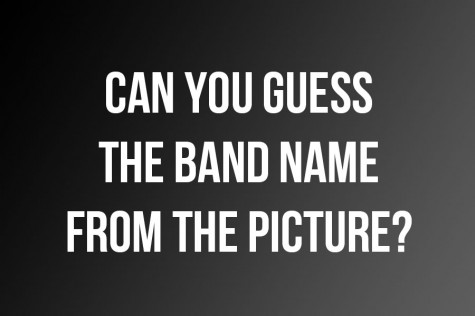 Can You Guess The Name Of The Band From The Picture?