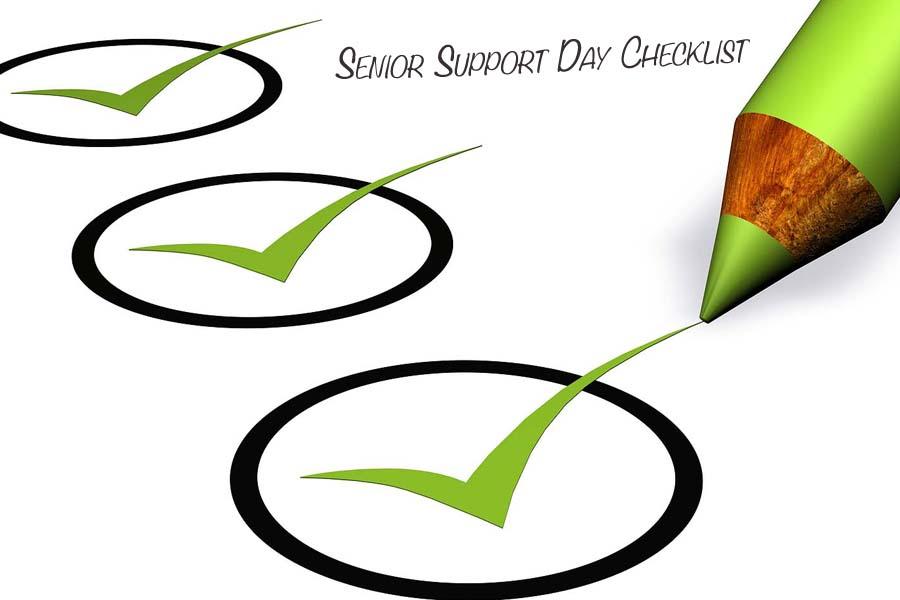 Senior Support Day Checklist