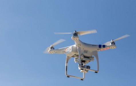 Drone takes flight