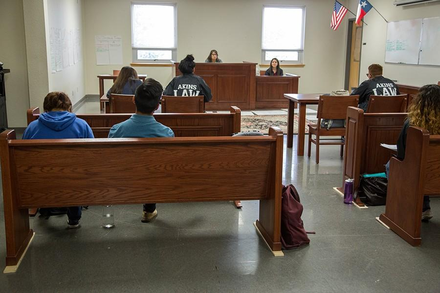 Law Intern students benefit from professional furniture