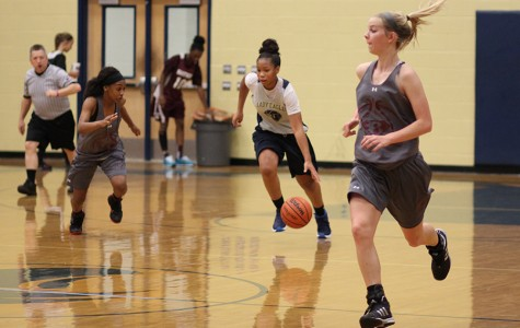 Girls basketball kicks off the pre-season with first scrimmage