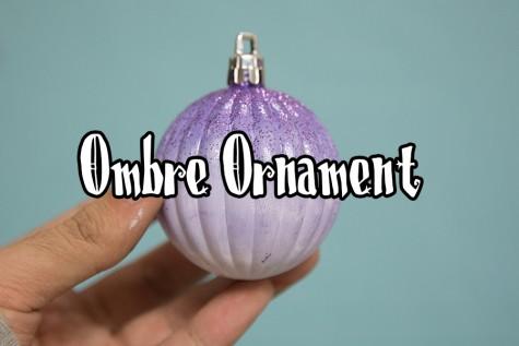 Glitter Ombre Ornament