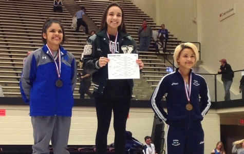 Freshman wrestler competes at State UIL wrestling competition