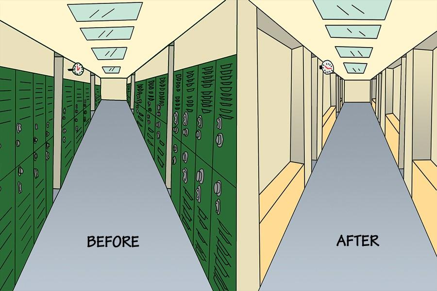 Lockers+before+and+after+removal
