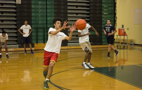 Select basketball team is created to train players