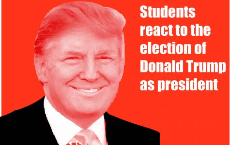 Students react to the presidential election results