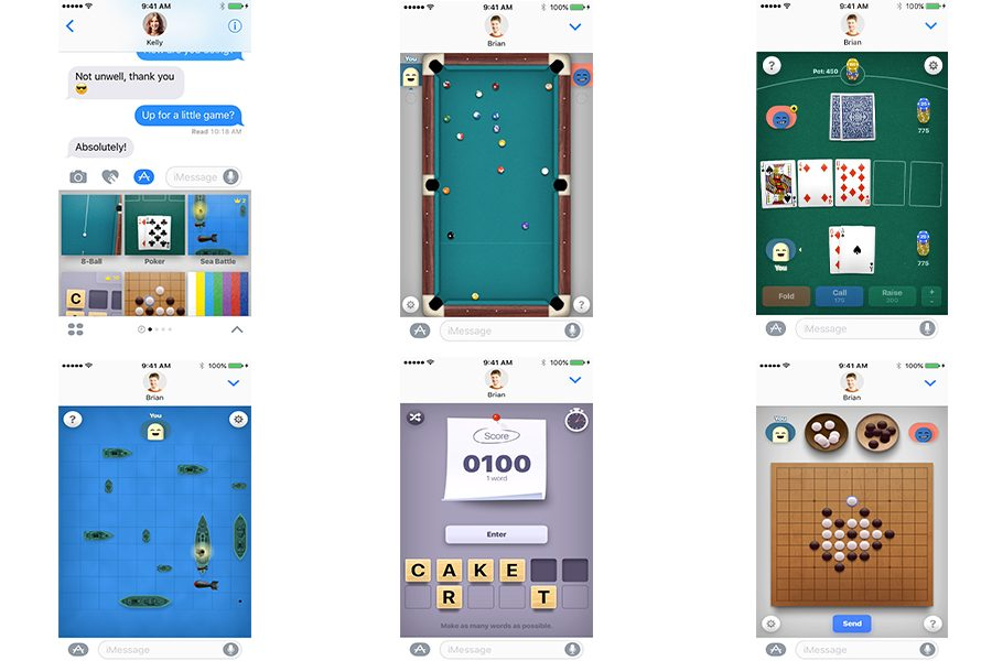 iOS+10+introduces+gaming+in+iMessage