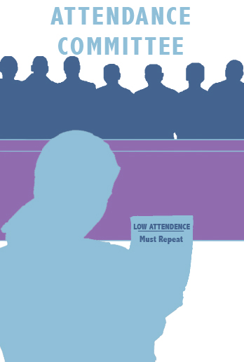 Attendance process decisions in need of revisions
