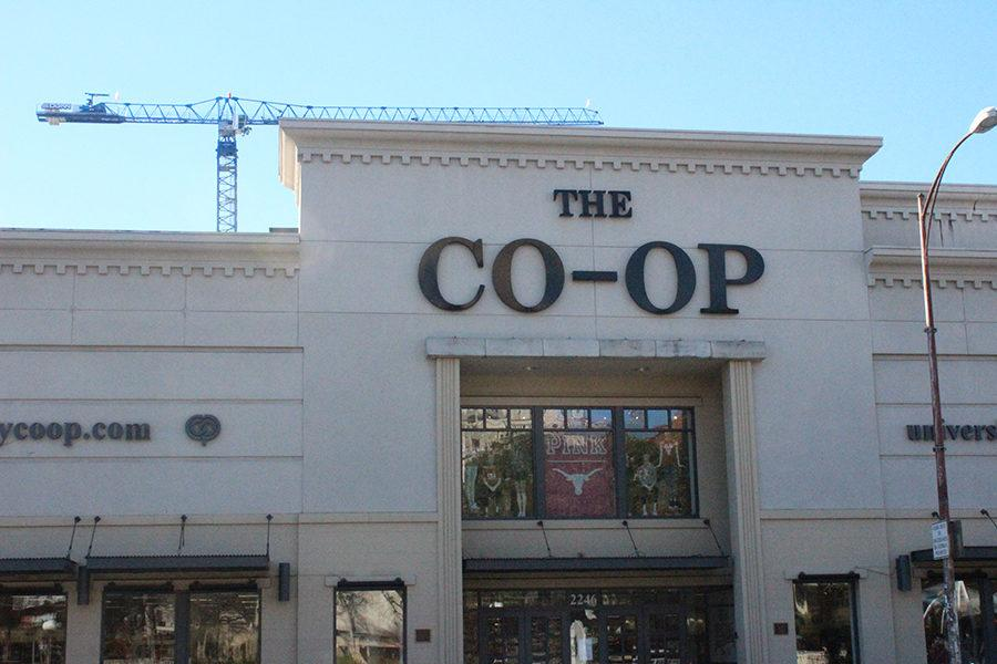 The University CO-OP is a popular destination for UT enthusiasts to buy longhorn gear