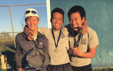 Tennis team's early wins serve as motivation for players
