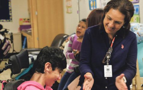 School relies on staff working behind the scenes
