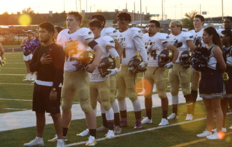 Akins Football win first season game