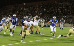 Akins Eagles vs. McCallum Knights Football Game