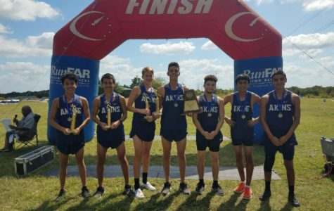 Cross Country boys win first district championship and make history