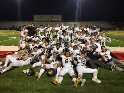 Varsity Football team makes the playoffs with win against Manor