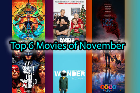 Top 6 anticipated movies of November