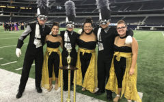 Akins Eagle Band celebrates recent competition results
