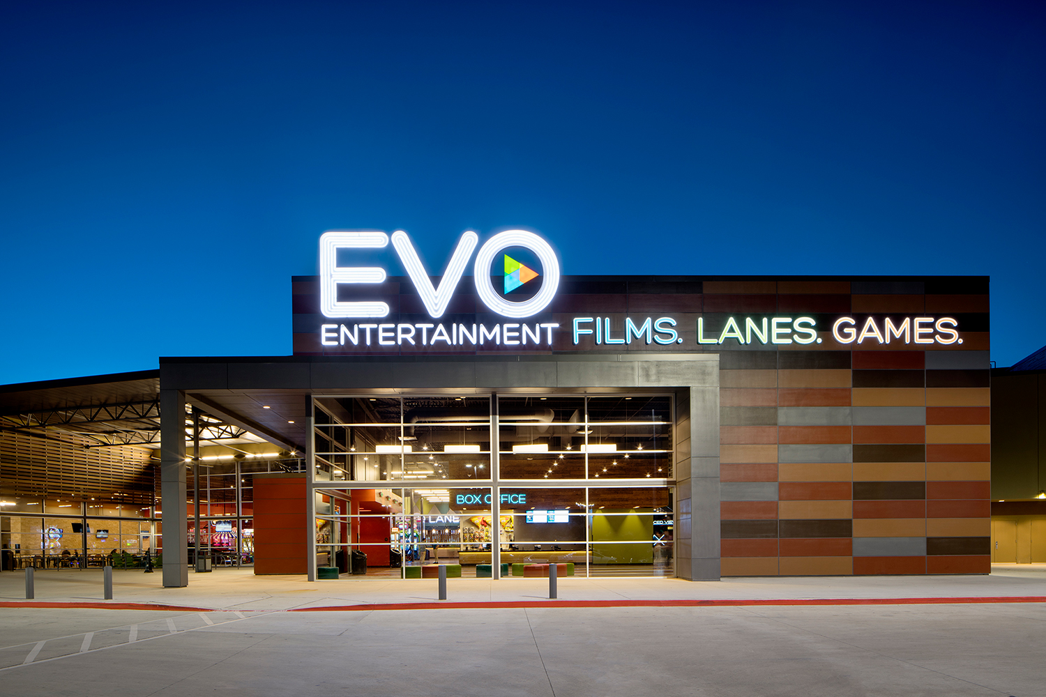 Short drive south to EVO Entertainment provides affordable fun