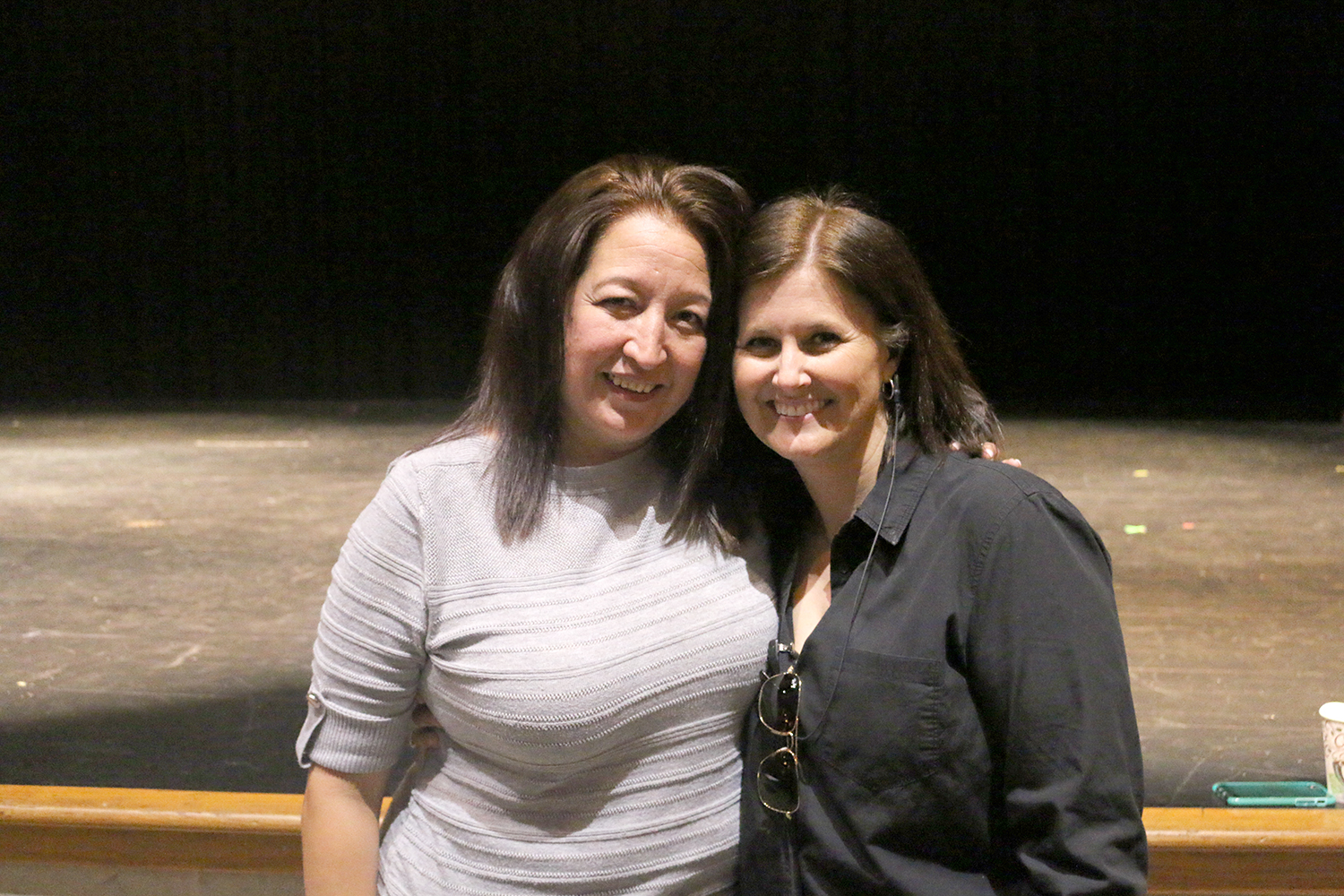 Tina Salazar (left) was announced as the interim principal of Akins High School on May 18. She is replacing Brandi Hosack (right) announced she will be leaving at the end of the school year. Salazar has worked at Akins for 10 years, serving as an English teacher, coach and assistant principal of the Social Services Academy.
