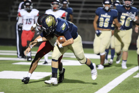 Akins players debate if they have the right to protest