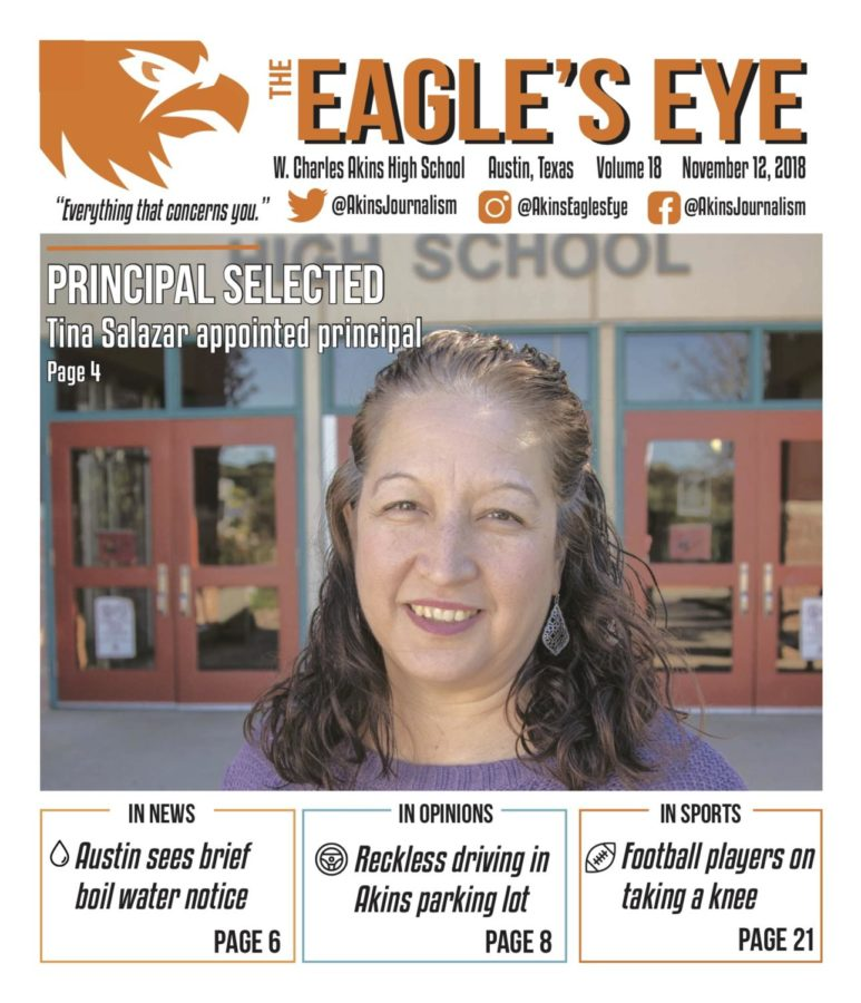 The Eagle's Eye; Issue 2; Volume 18