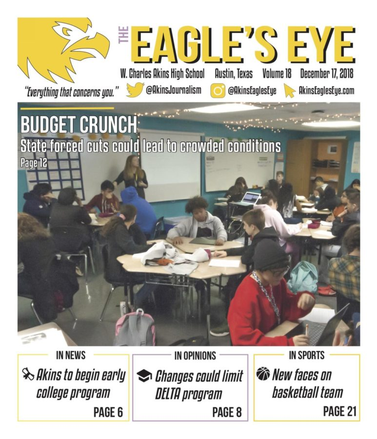The Eagle's Eye; Issue 3; Volume 18