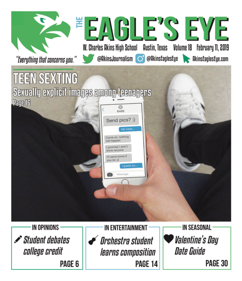 The Eagle's Eye; Issue 4; Volume 18