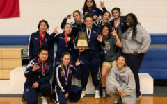 Girls wrestling team wins district championship for the 5th time