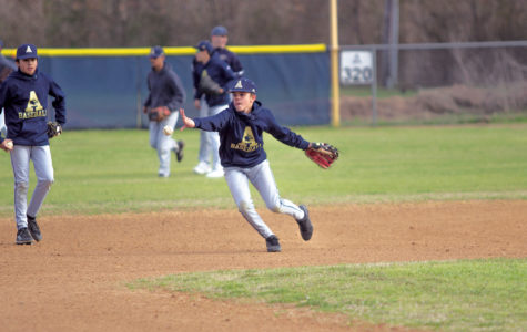Varsity baseball players prepare for playoff run