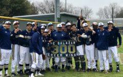 Head baseball coach earns 300th career win