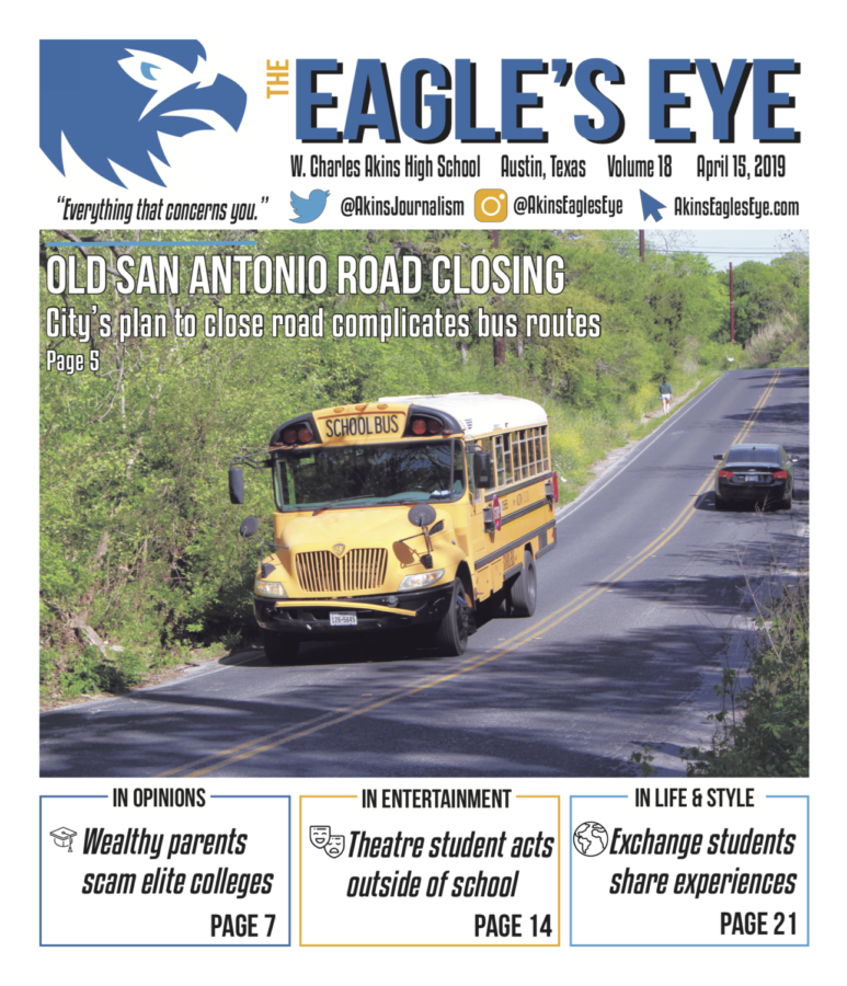 The Eagle's Eye; Issue 5; Volume 18