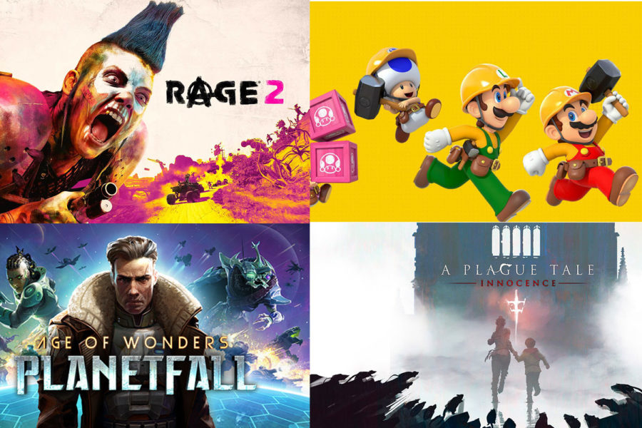 New games to play this summer
